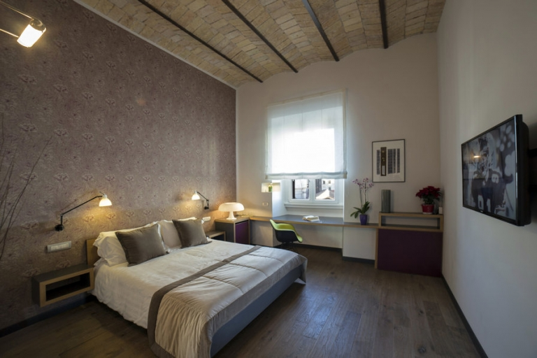 Camera tripla Relais B&B Atypical Rooms in Centro a Roma