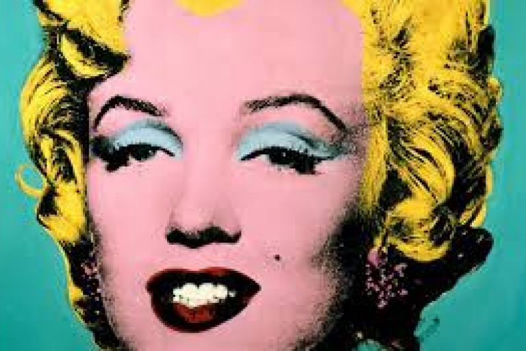 Andy Warhol  pop art in Rome